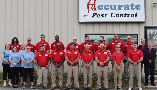 Team Members of Accurate Termite & Pest Control